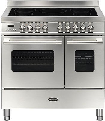 Britannia RC-9TI-DE-S Electric Range Cooker