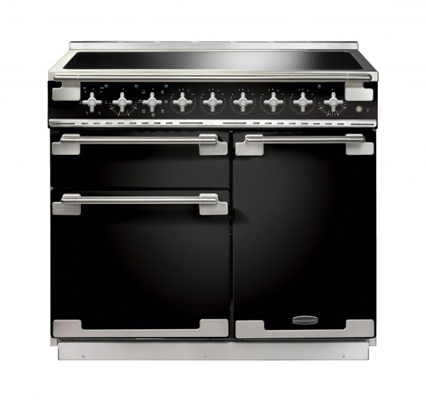 Rangemaster Elise 100IND Black100160 Electric Range Cooker