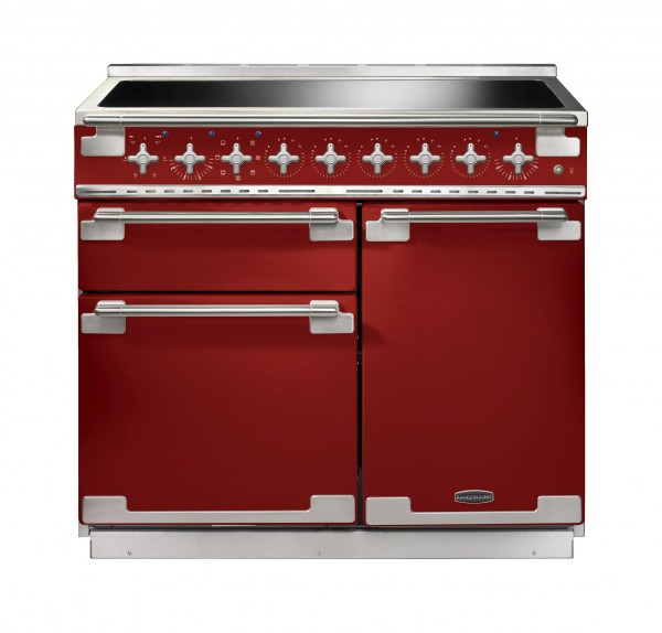 Rangemaster Elise 100IND Cherry Red 100220 Electric Range Cooker