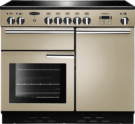 Rangemaster Professional Plus 100IND Cream 96040 Electric Range Cooker