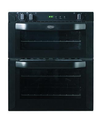 Belling BI 70 FP Blk Double Oven Electric