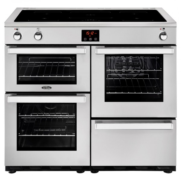 Belling Cookcentre 100Ei SS Professional Electric Range Cooker