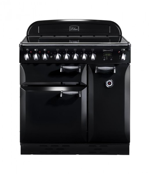 Rangemaster Elan 90IND Black 89400 Electric Range Cooker