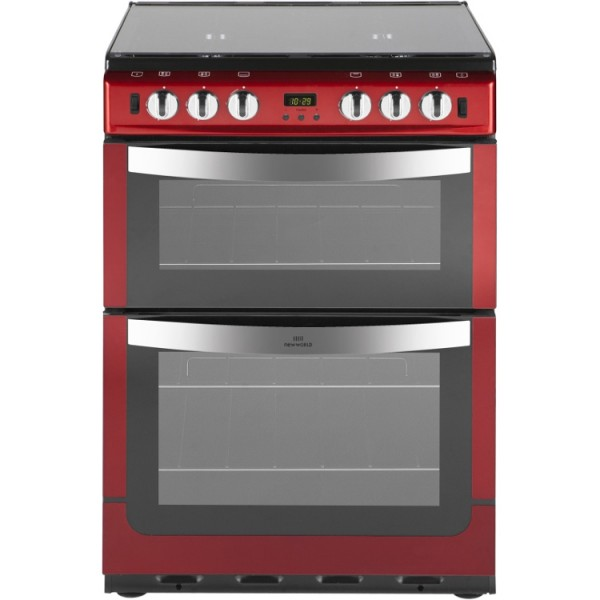 New World 601GTCL Met Red Gas Cooker
