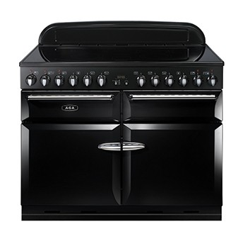 AGA Masterchef 110 IND Black Electric Range Cooker