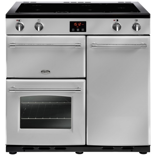 Belling Farmhouse 90Ei Sil Electric Range Cooker