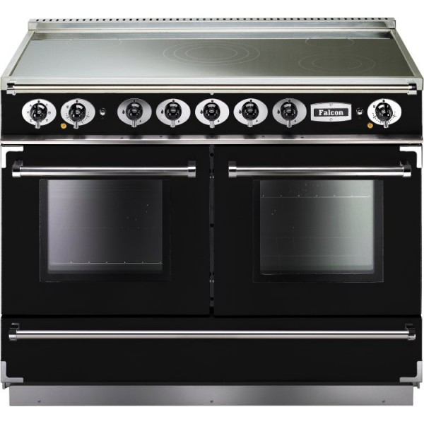 Falcon Continental 1092 IND Black Chrome 83620 Electric Range Cooker