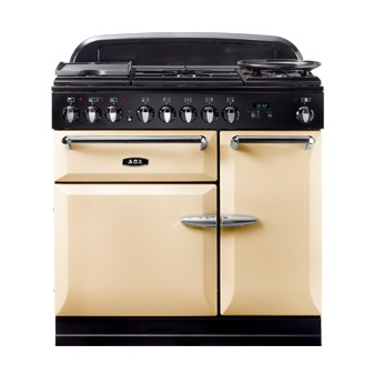 AGA Masterchef 90 DF Cream Dual Fuel Range Cooker
