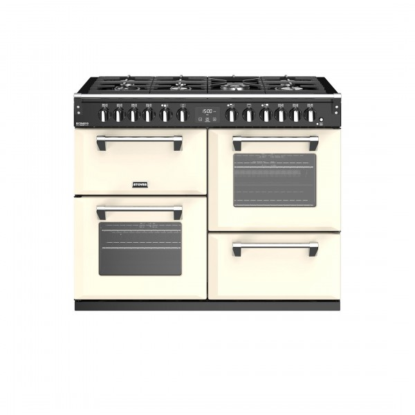 Stoves Richmond Deluxe S1100DF Classic Cream Dual Fuel Range Cooker