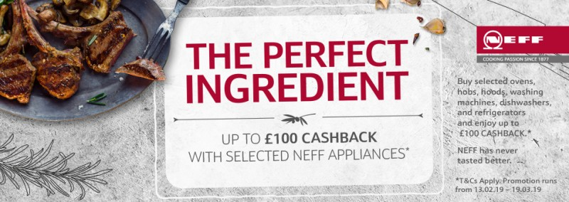 Neff Cashback Feb 19 Stellisons Electrical