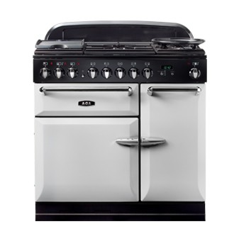 AGA Masterchef 90 DF Pearl Ashes Dual Fuel Range Cooker