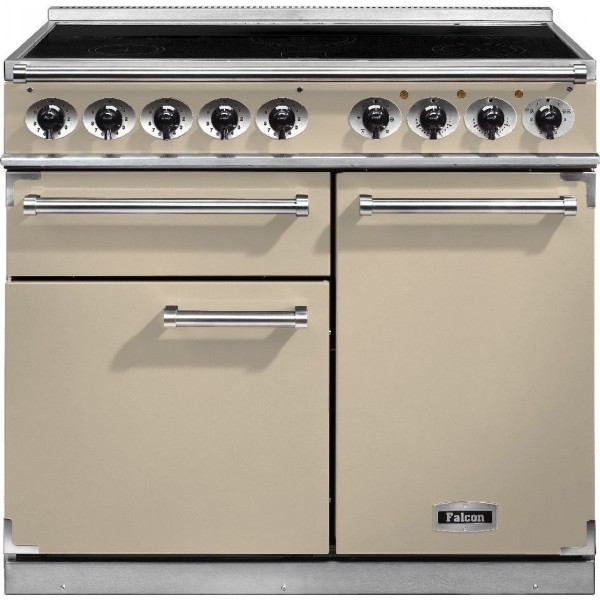 Falcon 1000 DX IND Cream Chrome 100110 Electric Range Cooker