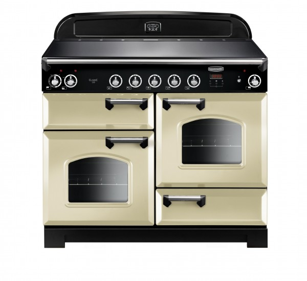 Rangemaster Classic 110IND Cream Chrome 117040 Electric Range Cooker