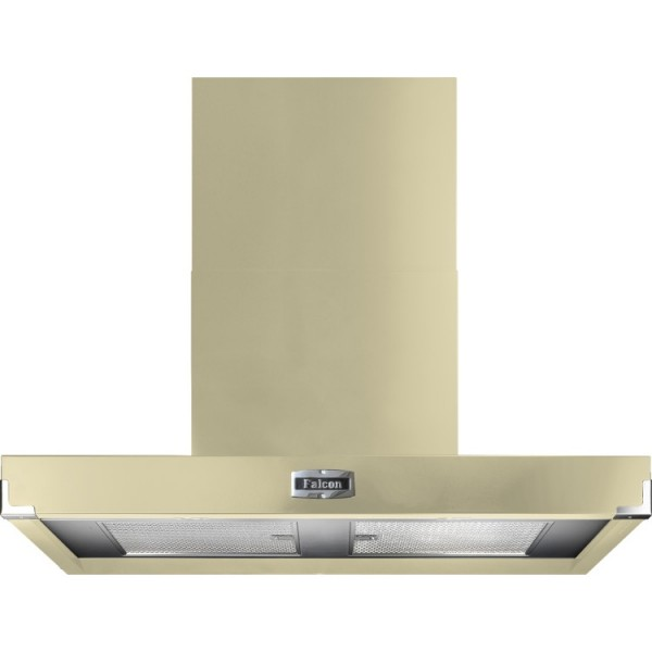 Falcon 1090 Contemporary Cream Chrome 91010 Cooker Hood