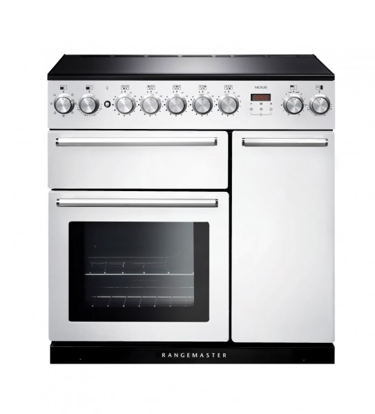 Rangemaster Nexus 90IND White 106200 Electric Range Cooker