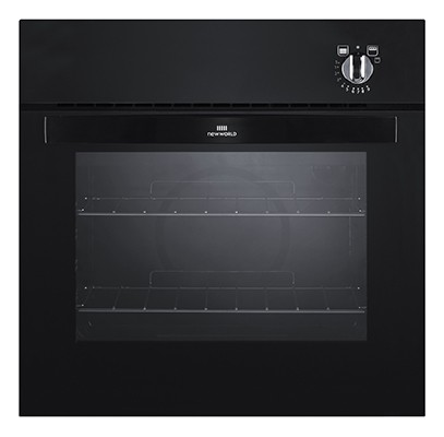 New World NW601G BLK Single Oven Gas