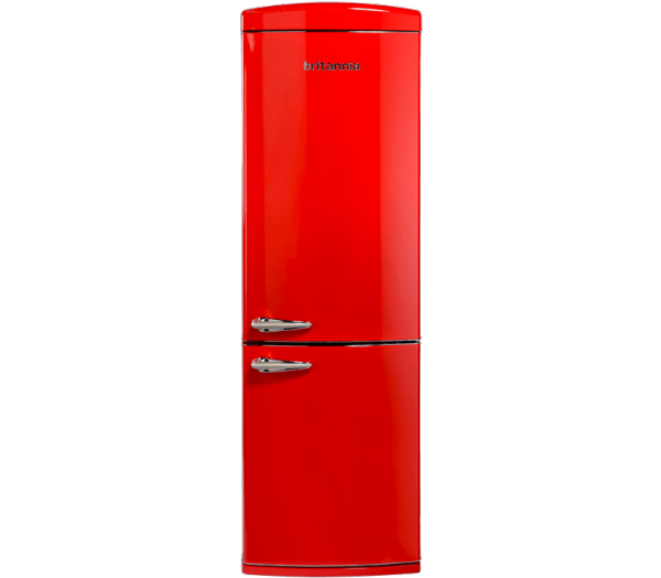 Britannia BREEZE RETRO F/F RED Frost Free Fridge Freezer