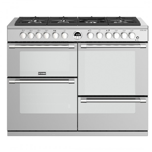 Stoves Sterling S1100DF SS Dual Fuel Range Cooker