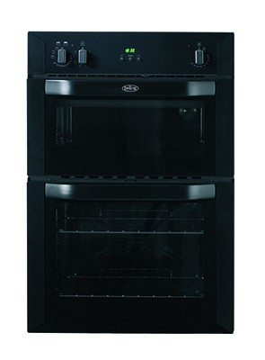 Belling BI 90 FP Blk Double Oven Electric