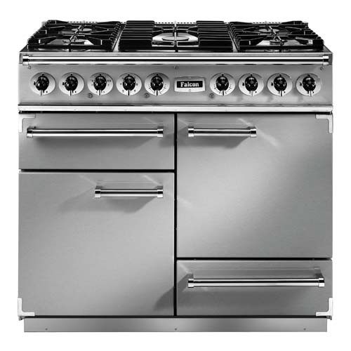 Falcon Continental 1092 DF SS Chrome 79510 Dual Fuel Range Cooker