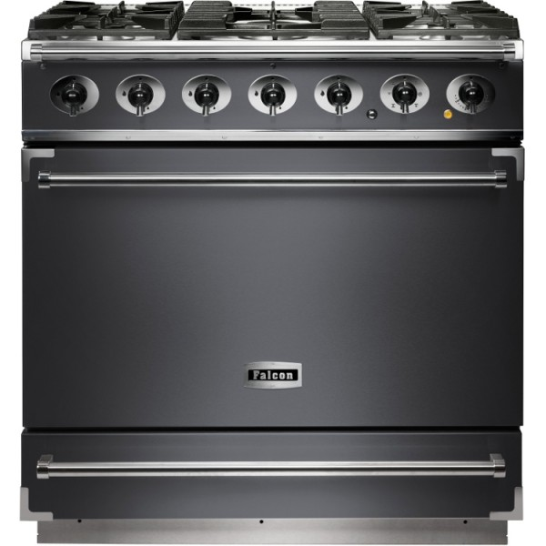 Falcon 900S DF Slate Nickel 102150 Dual Fuel Range Cooker