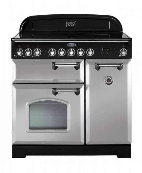 Rangemaster Classic Deluxe 90IND Royal Pearl 100620 Electric Range Cooker