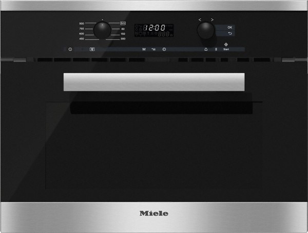 Miele M6260TC clst PureLine Integrated Microwave