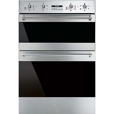 Smeg DOSF634X Double Oven Electric