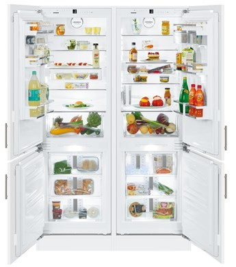 Liebherr SBS66I2 Integrated Fridge Freezer