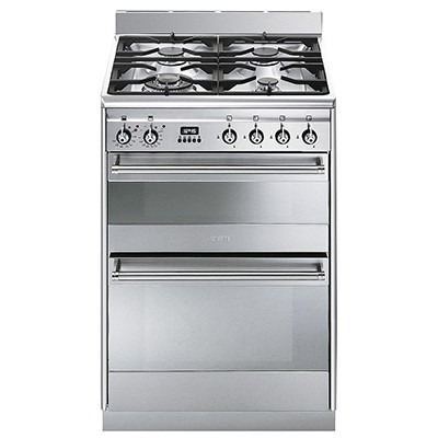 Smeg SUK62MX8 Dual Fuel Cooker