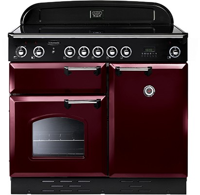 Rangemaster Classic 100CER Cranberry 112810 Electric Range Cooker