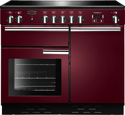 Rangemaster Professional Plus 100CER Cranberry 112380 Electric Range Cooker