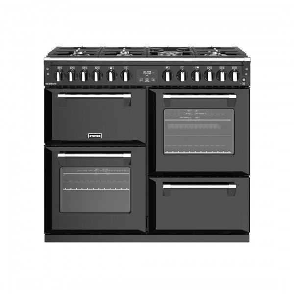 Stoves Richmond S1000DF Black Dual Fuel Range Cooker