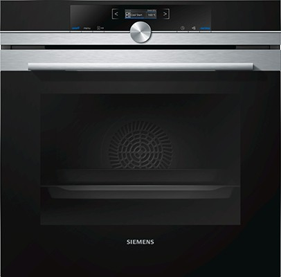 Siemens HB672GBS1B Single Oven Electric