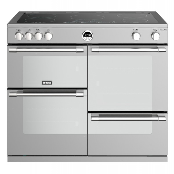 Stoves Sterling S1000E i SS Electric Range Cooker