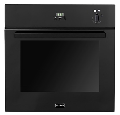 Stoves SGB600PS Blk Single Oven Gas