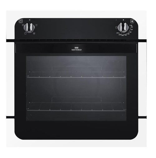 New World NW601F WHI Single Oven Electric