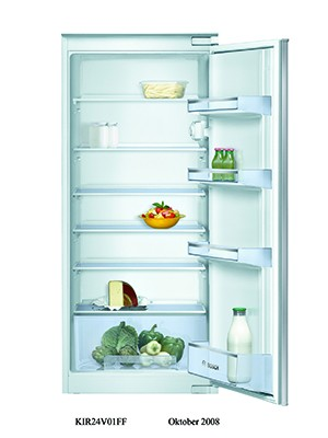 Bosch KIR24V20GB Integrated In Column Larder