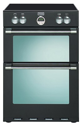 Stoves Sterling 600MFTI Blk Electric Cooker