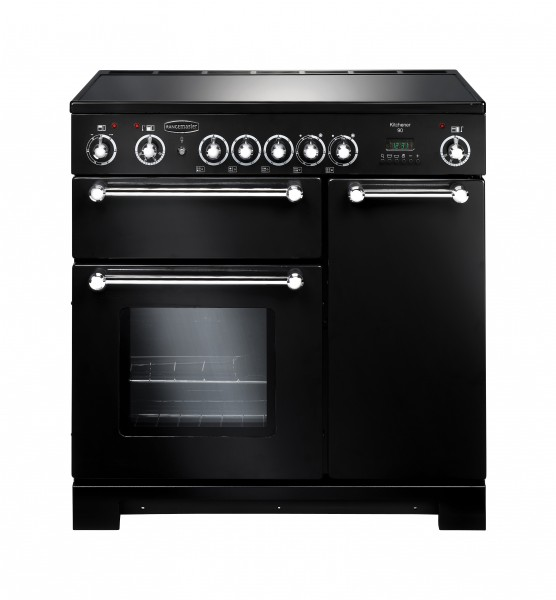 Rangemaster Kitchener 90CER Black 79270 Electric Range Cooker