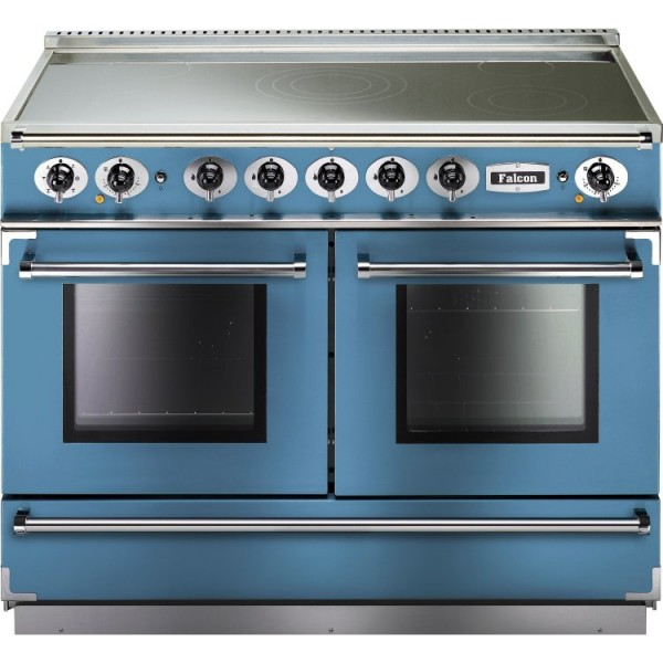 Falcon Continental 1092 IND China Blue Nickel 83650 Electric Range Cooker