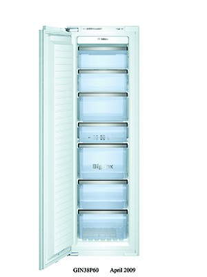 Bosch GIN38A55GB Integrated In Column Freezer