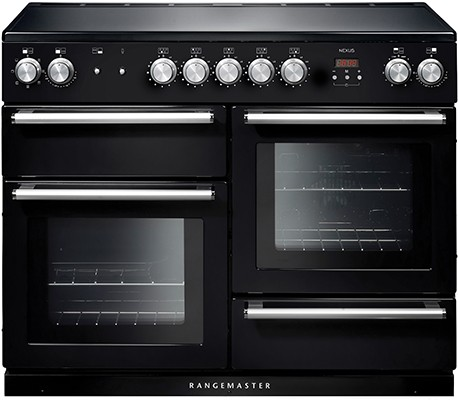 Rangemaster Nexus 110IND Black 104830 Electric Range Cooker