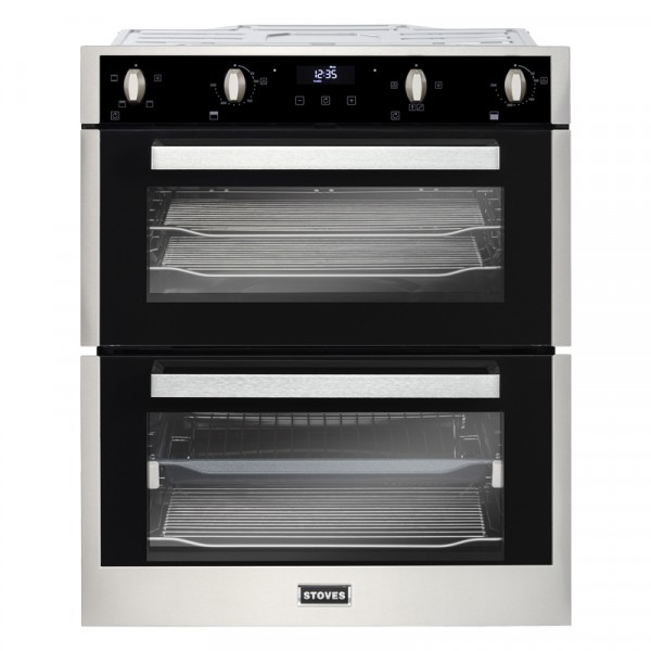 Stoves BI702MFCT ss Double Oven Electric