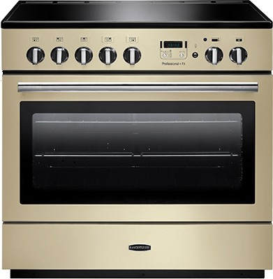 Rangemaster Professional Plus FX 90IND Cream 96320 Electric Range Cooker