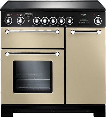 Rangemaster Kitchener 90CER Cream 79280 Electric Range Cooker