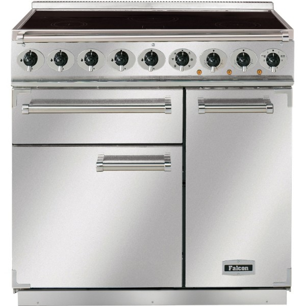 Falcon 900 DX IND SS Chrome 81390 Electric Range Cooker