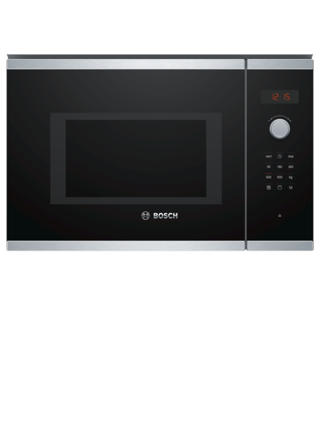 Bosch BEL553MS0B Integrated Microwave Grill