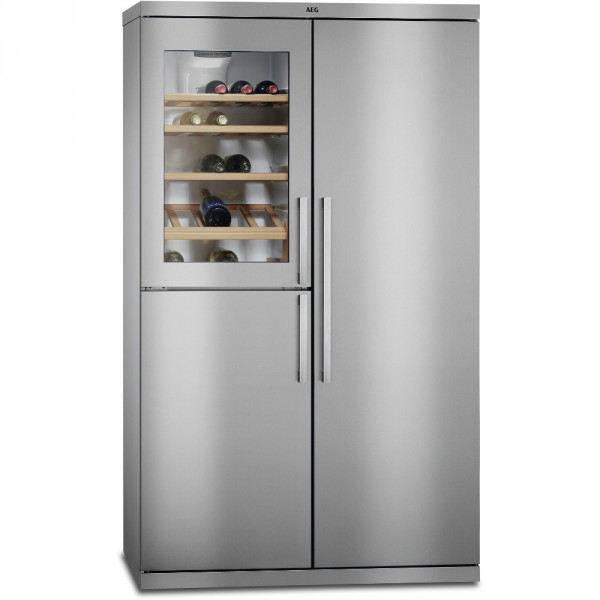 AEG RXE75911TM American Style Fridge Freezer