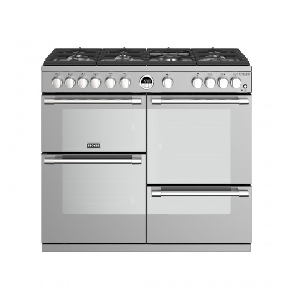 Stoves Sterling Deluxe S1000G SS Gas Range Cooker